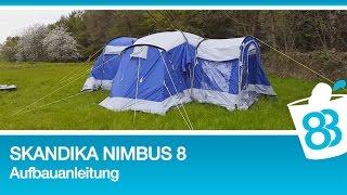 Skandika Nimbus 8 Aufbauanleitung Schlafsack Iceland Isomatte Deluxe