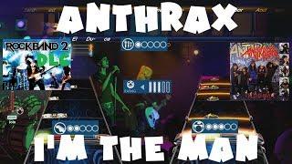 Anthrax - I'm the Man - Rock Band 2 DLC Expert Full Band (September 28th, 2010)