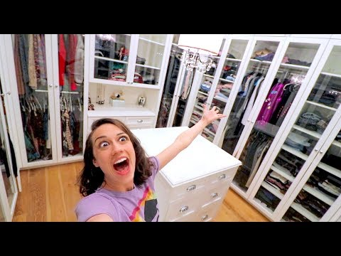 Download CLEANING MY HUGE CLOSET FOR THE FIRST TIME! HD Mp4 3GP Video and MP3