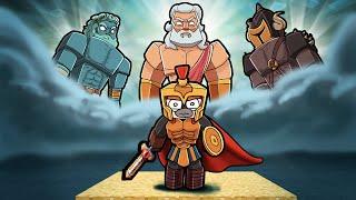 Ancient GREEK GOD Map Wars! (Minecraft)