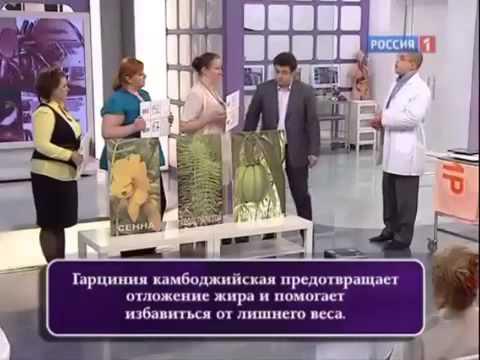 """Гарциния Камбоджийская в ток шоу """"О самом главном"""""""