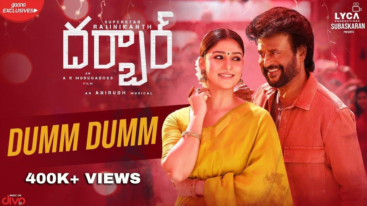 Dumm Dumm Lyric Video Song from Darbar