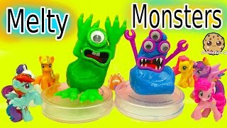 Create Your Own Melty Monster - Putty Play Video With My Little Pony - Toy Video
