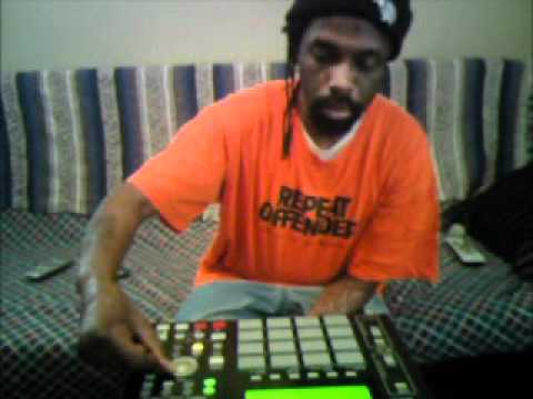 Red-I Recording battle beat