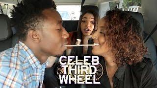 MOUTH TO MOUTH CHALLENGE w/ Teala Dunn   CELEB THIRD WHEEL