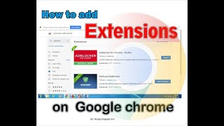 how to add idm extension in google chrome from chrome web
