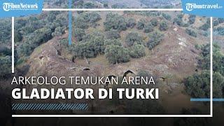 Viral Arkeolog Temukan Arena Gladiator Romawi di Turki, Tempat Manusia Diadu dengan Hewan Liar