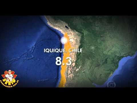 Forte terremoto atinge o Chile e alerta de tsunami é declarado