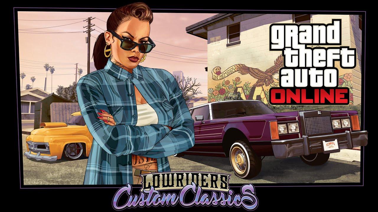 Обложка видео Трейлер Grand Theft Auto Online: Lowriders
