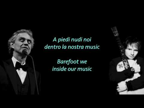 Ed Sheeran, Perfect Symphony ft. Andrea Bocelli (lyrics & translate) mp3