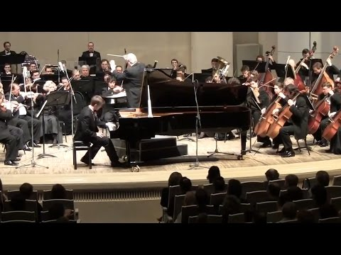 Ravel. Concerto for the left hand