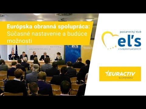 Eduard Kukan o PESCO - Európskej obrannej spolupráci