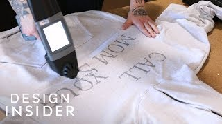 Artist Prints Designs Directly Onto Clothes(STYLE INSIDER )