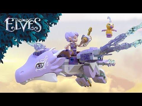 Vidéo LEGO Elves 41193 : Aira et la chanson du Dragon du vent
