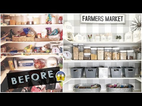 PANTRY ORGANIZATION IDEAS | PANTRY MAKEOVER