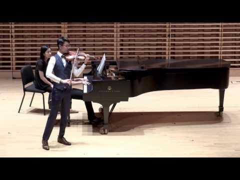 Ming-hang Tam - Bartók Violin Concerto No. 2, Sz. 112 (1937-38): Allegro non troppo