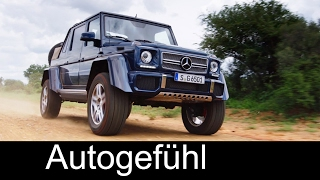 Mercedes-Maybach G 650 Landaulet Exterior/Interior Preview - Autogefühl