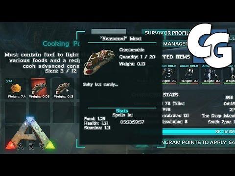 Video ARK: Survival Evolved - How to Make Custom Recipes (v224)