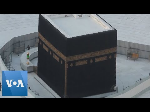, title : 'Kaaba Deserted as Saudi Arabia Suspends Pilgrimage'