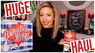 HUGE BATH AND BODY WORKS HAUL- HOLIDAY 2018 CANDLES + BEST SCENTS FOR CHRISTMAS!! 🎄🎅🏼✨  Brianna K
