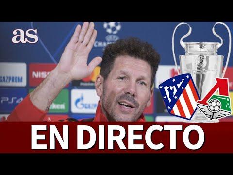 ATLÉTICO-LOKOMOTIV |Rueda de prensa de Simeone y Oblak en Champions League | Diario AS