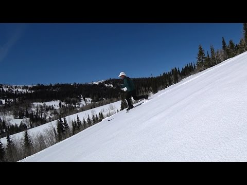 Backcountry Skiing, Salt River Pass in Wyoming