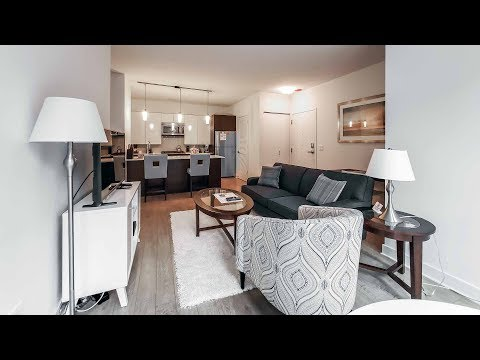 A furnished short-term 1-bedroom at the Loop's luxurious MILA apartments