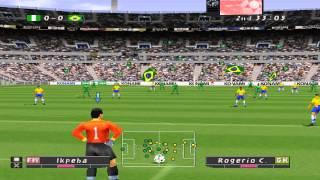 Winning Eleven 4 - Brasil vs Nigéria