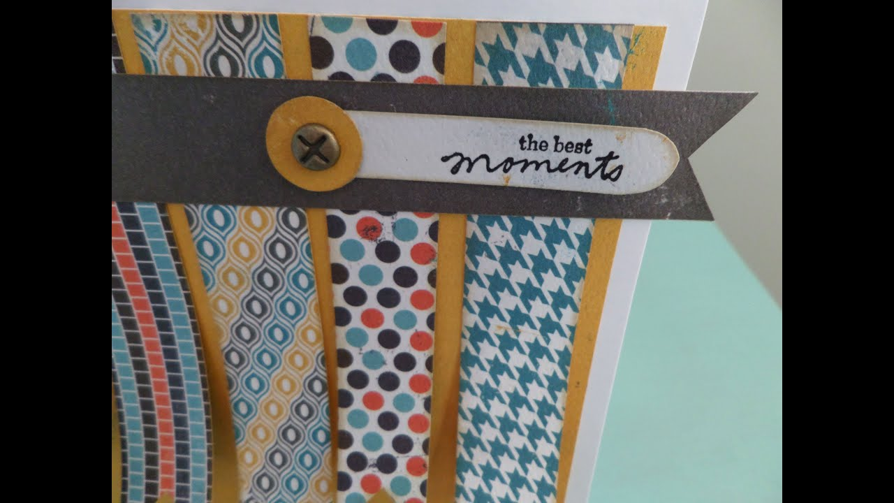 Tarjeta Best moments. Tutorial