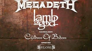 Lamb of God – UK & Eire Co-Headline Tour with Megadeth Thumbnail