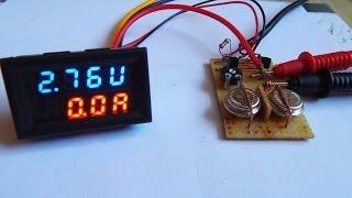 Ladegerät für Knopfzelle Akku Varta V80H