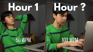 Learning to Double My Typing Speed - From 50 WPM to 100 WPM