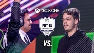 FIFA 18 FUT Champions Xbox Final Falcon Msdosary vs NRaseck Highlights