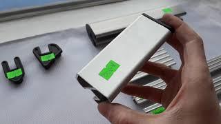 Алюминиевый профиль для резиновых лодок
