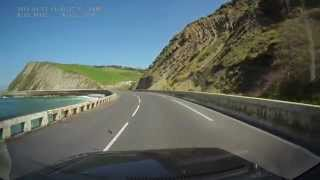 preview picture of video 'Carretera Zumaia Getaria'