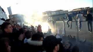 preview picture of video 'Cori Ultras Ribera Curva Sud D. Giannone 06/01/2013'