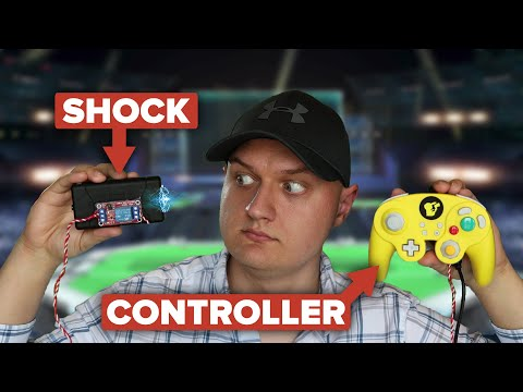 This controller tazes you as Pichu in Super Smash Bros.