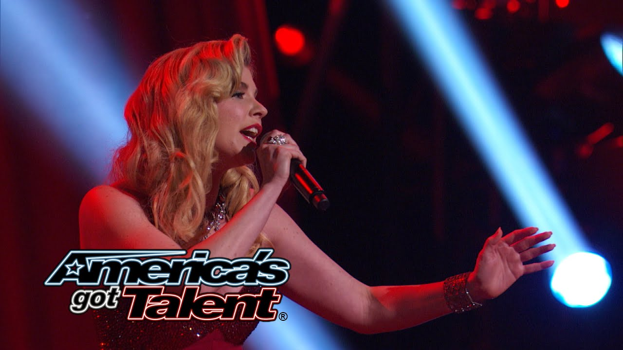 "Emily West: Singer Performs ""Chandelier"" by Sia Cover - America's Got Talent 2014 Finale thumbnail"