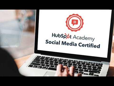 Hubspot social media certification course 2019 with Answers 100 ...