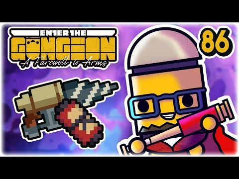 Drill Clone Bros. | Part 86 | Let's Play: Enter the Gungeon: Farewell to Arms | PC HD