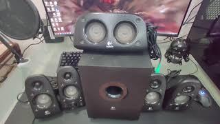 Logitech z506 audio 5.1, RETRO REVIEW, unas guerreras de bajo costo