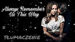 Lady Gaga   Always Remember Us This Way  Tłumaczenie