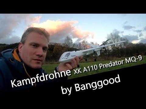 XK A110 Predator MQ-9 - An Evil Combat Drones as RC Model by Banggood