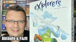 Explorers (Ravensburger) - ab 8 Jahren - Flip & Write Familienspiel