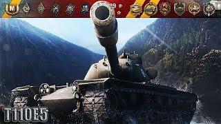 ЗА ТАКОЙ БОЙ ЕМУ РЕАЛЬНУЮ МЕДАЛЬ!!! 🌟🌟🌟 World of Tanks лучший бой T110E5