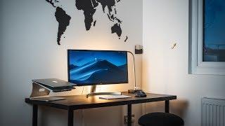 Minimal and Affordable Desk Setup for Productive Students