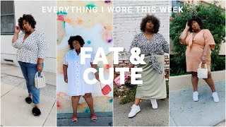 EVERYTHING I WORE THIS WEEK EP. 1 | AND I GET DRESSED
