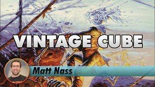 Matt Nass Streams a Vintage Cube Draft