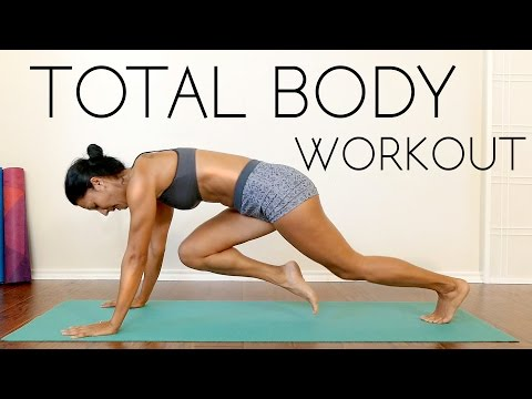 Total Body Workout + Weight Loss Tips!! Fat Burning Fitness Routine for Beginners, Home Exercise