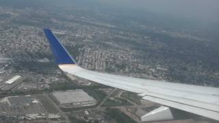 United (Continental Airlines) - Take Off Newark Liberty International Airport B737-900
